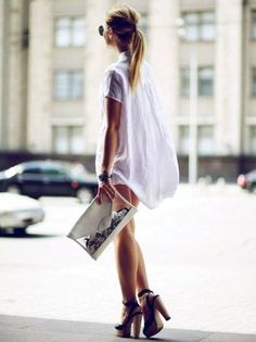 camisa-branca-vestido-street-style-plataforma-madeira-como-usar-steal-the-look