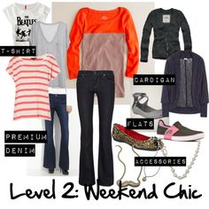 The 5 Levels of Working Mom Outfits: Level 2 weekend chic