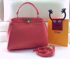 Fendi peekaboo mini handbags original leather Bagsagents gmail.com e17183da86e71