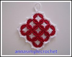 Manique from Anna Simple Crochet {Sewing #34}