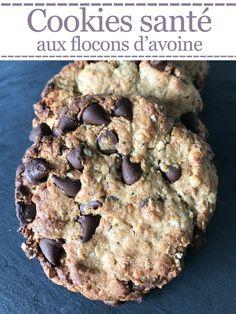 Cookies santé aux flocons d'avoine – Je suis gourmande … Mais je me soigne !