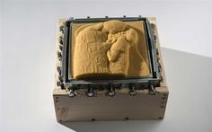 3ders.org - 3D printing lets the blind to touch and feel Gustav Klimt's 1908 masterpiece 'The Kiss' | 3D Printer News & 3D Printing News