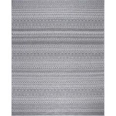 Rhapsody Gray 5 ft. x 7 ft. Indoor/Outdoor Area Rug Outdoor Carpet, Indoor Outdoor Area Rugs, Outdoor Stage, Rug Texture, Patio Rugs, Polypropylene Rugs, Rug Material, Colorful Rugs, Gray