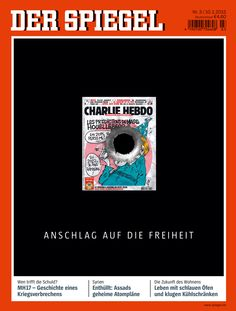Cover published right after the murder of the cartoonists at Charlie Hebdo magazine in Paris. Satire, Ramadan, Muji Pens, Charlie Hebdo, Subway Map, Cool Magazine, Magazine Covers, Mood And Tone, Teaching Career