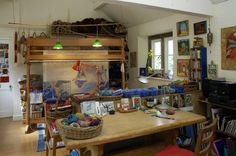 Kirsten Glasbrook studio.