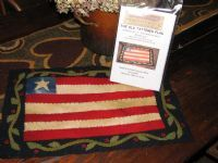 OLD GLORY Penny Rug Pattern