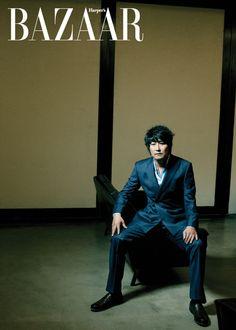 Song Kang-ho // Harper's Bazaar Korea