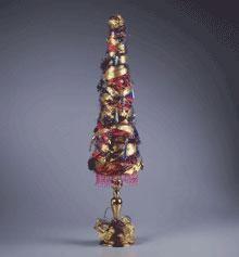 DIY Topiary  : DIY Ribbon and Jewel Topiary