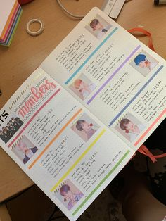 BTS journal Kpop Journal, BTS members informationYou can find Kpop journal and more on our website.BTS journal Kpop Journal, BTS members information Bullet Journal Kpop, Bullet Journal Cover Ideas, Bullet Journal Aesthetic, Bullet Journal Notebook, Bullet Journal Themes, Bullet Journal Spread, Journal Covers, Bullet Journal Inspiration, Journal Pages