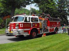 ◆Wellsboro, MA FD Engine 13 ~  1982 American LaFrance Century Series Pumper◆