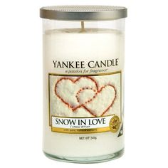 Yankee Candle Snow in Love Medium Pillar *** Be sure to check out this awesome product.