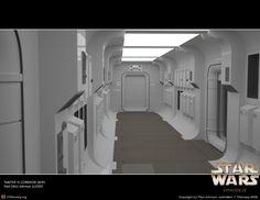 Image result for star wars tantive iv interior Spaceship Interior, Futuristic Interior, Exterior Design, Interior And Exterior, Star Wars Room, Environment Concept, Interstellar, For Stars, Corridor