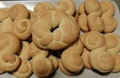 Cake Mix Cookie Recipes, Cake Mix Cookies, Dessert Recipes, Greek Desserts, Greek Recipes, Biscuit Bar, Easy Sweets, Pastry Cake, Bagel