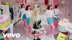 Hello Kitty - Avril Lavigne (This song makes me smile every time I listen to it)