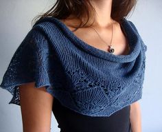 Sunshine Shawl.