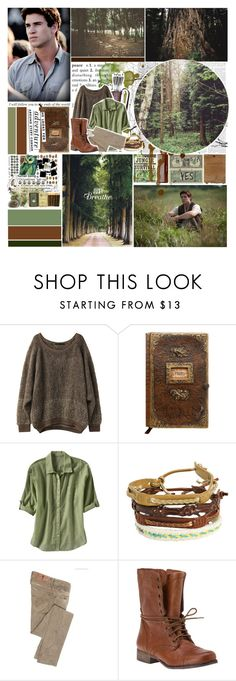 """""""Gale Hawthorne"""" by ichangemyname ❤ liked on Polyvore featuring Kate Spade, Old Navy, Faith Connexion, Steve Madden, hunger games, miley hate your boyfriend, buuu, hated, liam and bleh"""