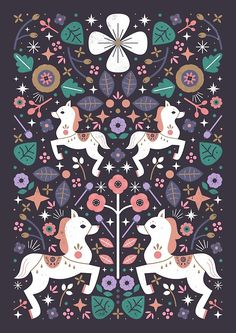Prancing Ponies by CarlyWatts