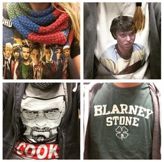 T-Shirt Day in the office! #doctorwho #freaksandgeeks #breakingbad