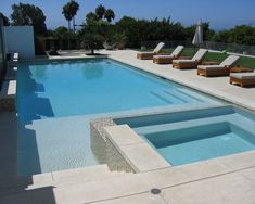 Chic Stamped Concrete Cost Convention Los Angeles Contemporary Pool Decorators With Fence Garden Furniture Modern Patio Spa
