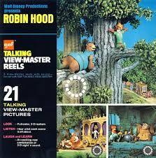 Disney view master Robin Hood