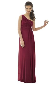 After Six 6651 Bridesmaid Dress | Weddington Way - in Burgundy or Claret