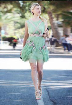 Zhanna Bianca in Alberta Ferretti Alberta Ferretti, Harajuku, My Style, Party, Fashion Ideas, Dolls, Oscar De La Renta, Puppet, Doll