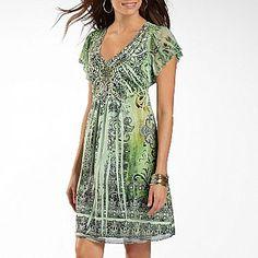Unity World Wear® Embellished Flip Flop Dress - jcpenney