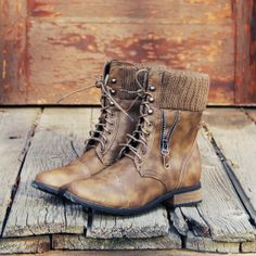 Ski Hill Sweater Boots in Ash #boots #Fall #winter #fashion #shoes #clothes