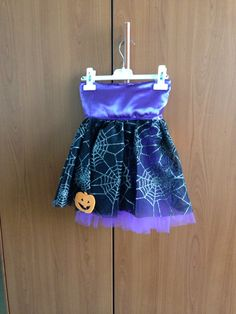 Gonna in tulle per halloween (fronte)