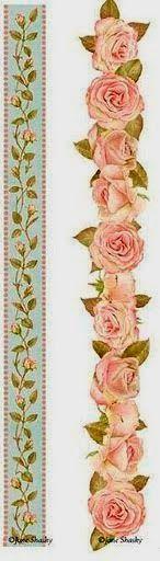 PAPIROLAS COLORIDAS: Octubre a full con las rosas.
