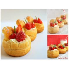 """Sweet Profiteroles. By @mfescg #DessertMasters"""