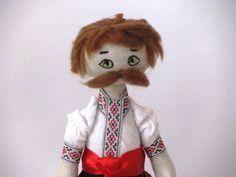 Ukrainian doll Rag doll Cloth doll Textile doll by GabYhandmade, $39.80