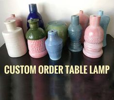 Hey, I found this really awesome Etsy listing at https://www.etsy.com/listing/593080745/create-your-custom-order-table-lamp-body