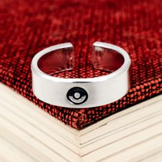 Pokeball Ring - Retro Video Games - Gamer Gift - Gifts for Gamers - Video Game Jewelry Pokemon Ring, Thing 1, Paper Gift Box, Gamer Gifts, Retro Video Games, Hand Wrap, Jewelry Gifts, Jewellery