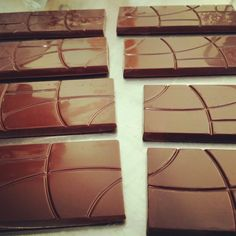 Chocolate made from bean to bar