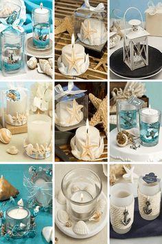 Wedding Candle Holder | 19 Unique Summer Beach Wedding Ideas