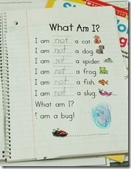 Poetry journals - sight word poetry