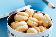 Whether you're raising funds or fun, these buttery melting moments are classic fete winners!