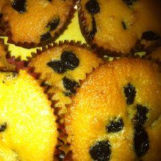Cupcakes de pasas.