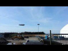 Zeppelin Landing - measures climate changes