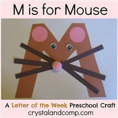 Animal Alphabet Letter M craft - Bing Images