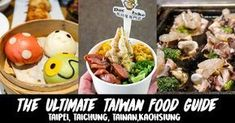 The ultimate list of food you should not miss when travelling through Taiwan on the THSR. Covering the must-eats in Taipei, Taichung, Tainan and Kaohsiung.