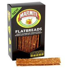 Crispy flatbreads thoughtfully baked with lots of lovely Marmite®. Walkers Crisps, Yeast Extract, Marmite, Medical Problems, Gourmet Recipes, The Cure, Packing, Vegetarian, Ebay