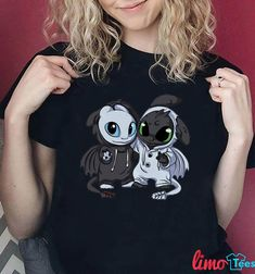 Night Fury and Light Fury customes shirt, tank top, guys shir Httyd 3, Dragon Trainer, Sweaters For Women, T Shirts For Women, Night Fury, Cool Jackets, Toothless, How To Train Your Dragon, Dreamworks