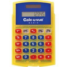 Basic Student Calcuvue Calculator