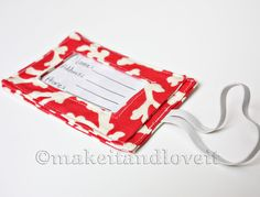 ID Tags – Luggage: for if you are traveling, here is a good way to ID your luggage and make it your own. You can make it here. www.makeit-loveit.com