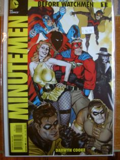 Special for Minutmen issue 1.