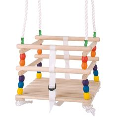 Wooden Cradle Swing