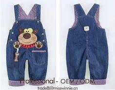Ropa bebe niño niño lindo de dibujos animados overol pantalones de jean-imagen-Jeans para niños -Identificación del producto:60049876453-spanish.alibaba.com