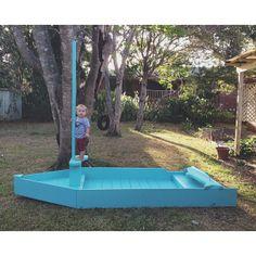 kids backyard boat